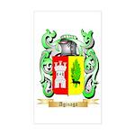 Aginaga Sticker (Rectangle)