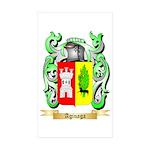 Aginaga Sticker (Rectangle 50 pk)