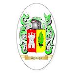 Aginaga Sticker (Oval 50 pk)
