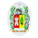 Aginaga Ornament (Oval)