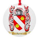 Agirre Round Ornament