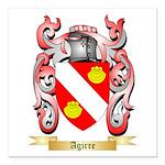 Agirre Square Car Magnet 3
