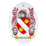 Agirre Ornament (Oval)