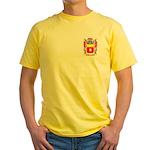 Agneesens Yellow T-Shirt