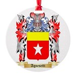 Agnesetti Round Ornament