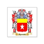 Agnesetti Square Sticker 3