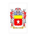 Agnesini Sticker (Rectangle)