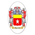 Agnesini Sticker (Oval)