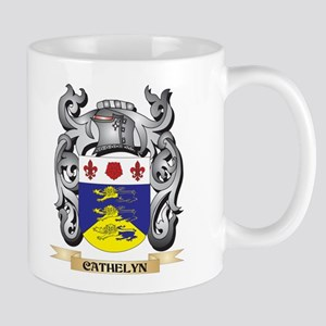 Cathelyn Family Crest - Cathelyn Coat of Arms Mugs