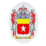 Agnesini Ornament (Oval)