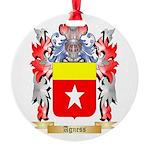 Agness Round Ornament