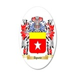 Agnete 35x21 Oval Wall Decal