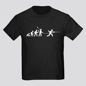 Fencing Kids Dark T-Shirt