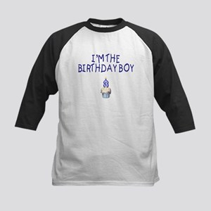 Birthday Boy 3 Kids Baseball Jersey