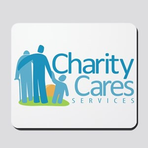 Charity Cares Services Mousepad