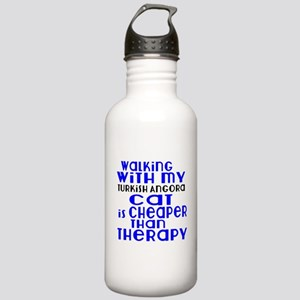 Walking With My turkis Stainless Water Bottle 1.0L