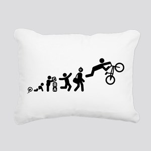 BMX Rectangular Canvas Pillow