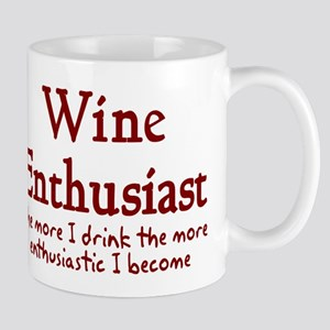 Wine enthusiast enthusiastic Mug