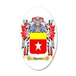 Agneter 35x21 Oval Wall Decal