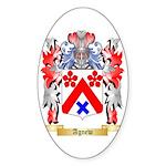 Agnew Sticker (Oval 50 pk)