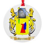 Agnioloni Round Ornament