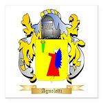 Agnoletti Square Car Magnet 3