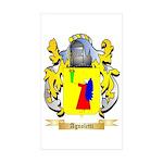 Agnoletti Sticker (Rectangle 50 pk)