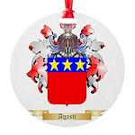 Agosti Round Ornament