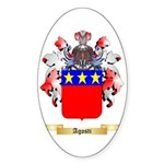 Agosti Sticker (Oval 10 pk)
