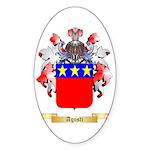 Agosti Sticker (Oval 50 pk)