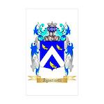 Agostinetti Sticker (Rectangle 10 pk)