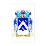Agostinetti Sticker (Rectangle 50 pk)