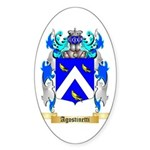 Agostinetti Sticker (Oval 10 pk)