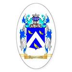 Agostinetti Sticker (Oval 50 pk)