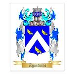 Agostinho Small Poster
