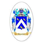 Agostini Sticker (Oval)