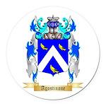 Agostinone Round Car Magnet