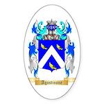 Agostinone Sticker (Oval 10 pk)