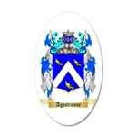 Agostinone 35x21 Oval Wall Decal
