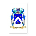 Agostinone 20x12 Wall Decal