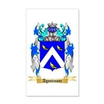 Agostinone 35x21 Wall Decal