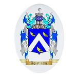 Agostinone Ornament (Oval)
