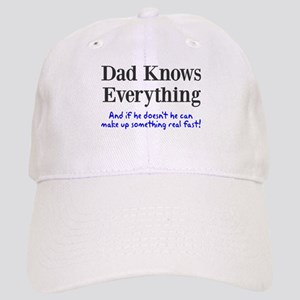 Dad Knows Everything Cap