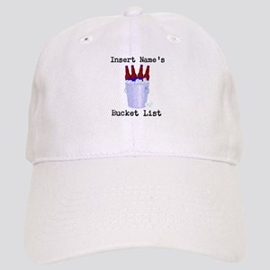 Insert Name Personalize Beer Bucket List Cap