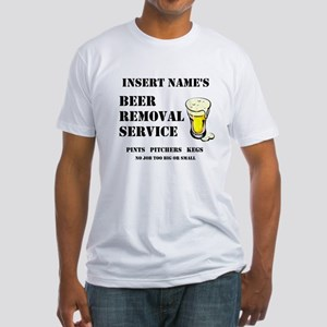 Insert Name Personalize Beer Removal Service Fitte