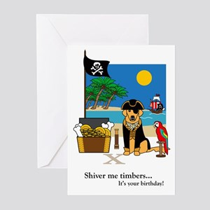 Pirate Gold Treasured Moments Birthday Cards