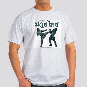 Muay Thai Ash Grey T-Shirt