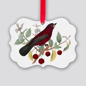 red bird Picture Ornament