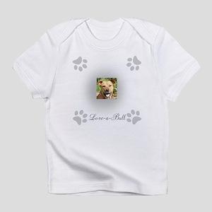 Love-a-Bull Grey Infant T-Shirt