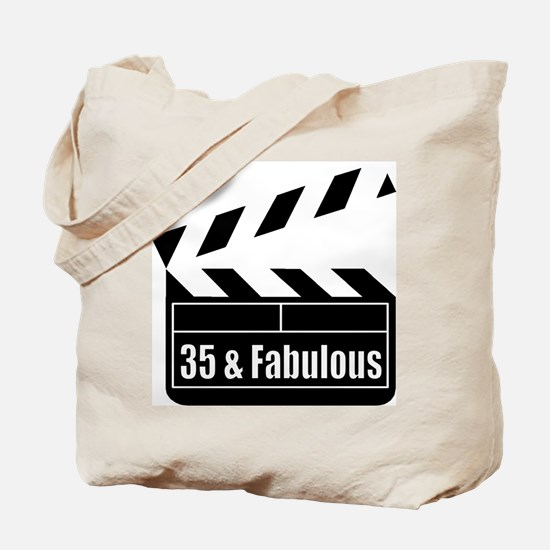HAPPY 35TH BIRTHDAY Tote Bag